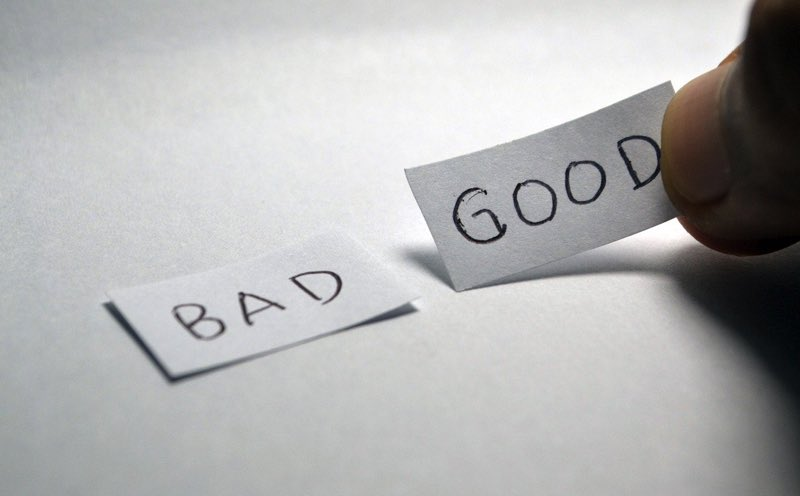 good bad word